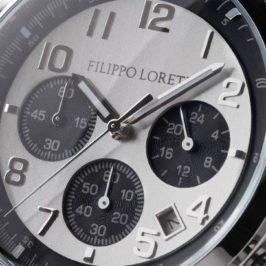 Fillippo Loreti horloge Milano Silver Black