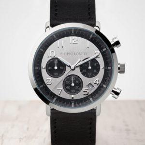 Filippo Loreti Milano Silver Black