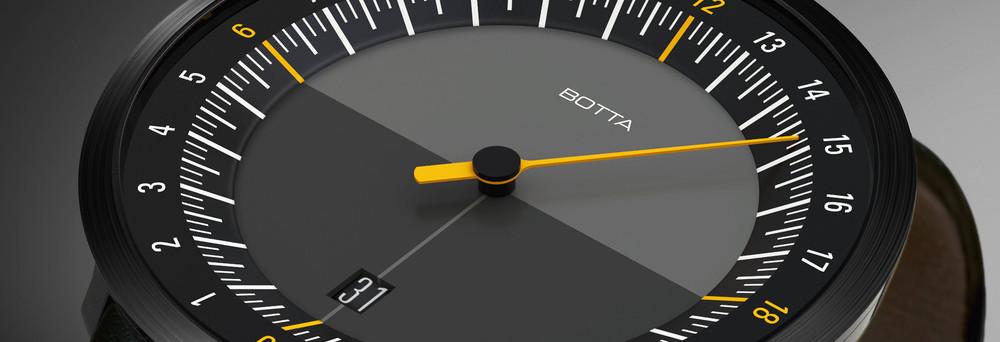 Botta Design horloge DUO