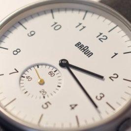Braun horloge BN0024