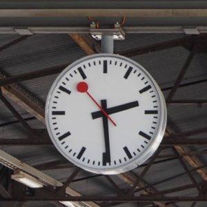 Originele Zwitserse stations klok