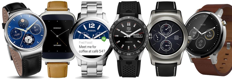 6 android wear smartwatches bekeken
