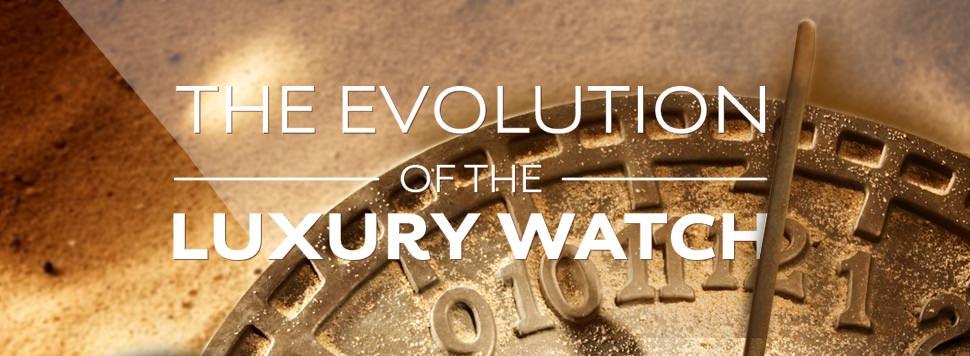 De evolutie van het horloge (infographic)