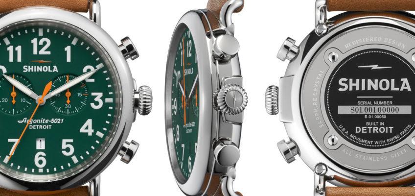 Shinola horloge Runwell