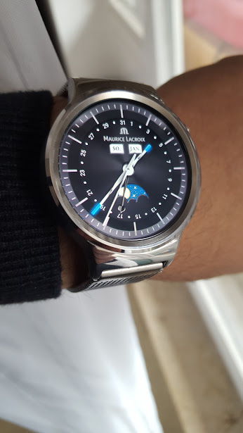 watch face Maurice Lacroix