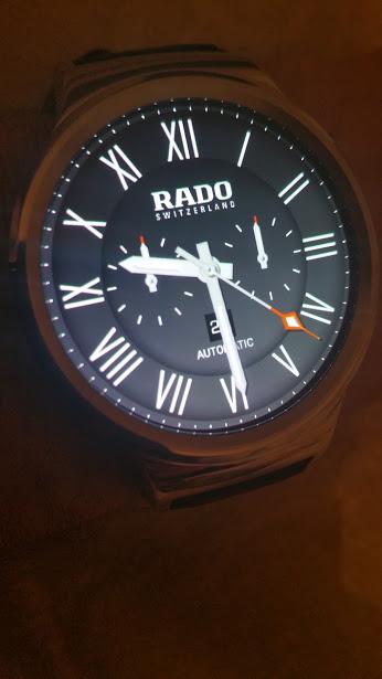 watch face rado