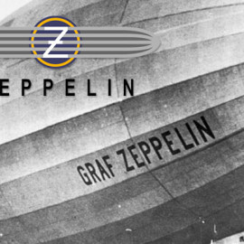Zeppelin horloges in close up