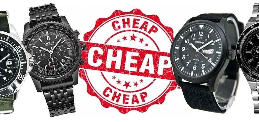 5 goedkope heren horloges onder de 40 euro