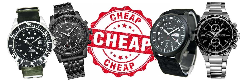 goedkope herenhorloges onder de 40 euro