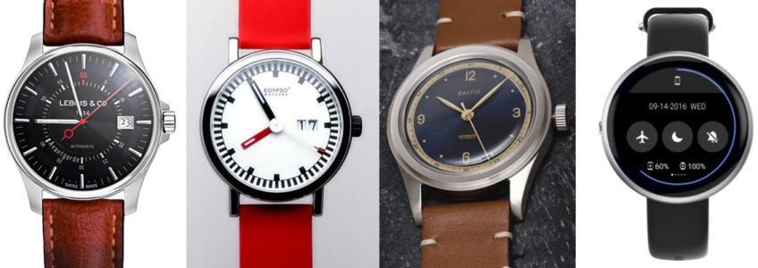 Niet te missen horloges op Kickstarter 04/17